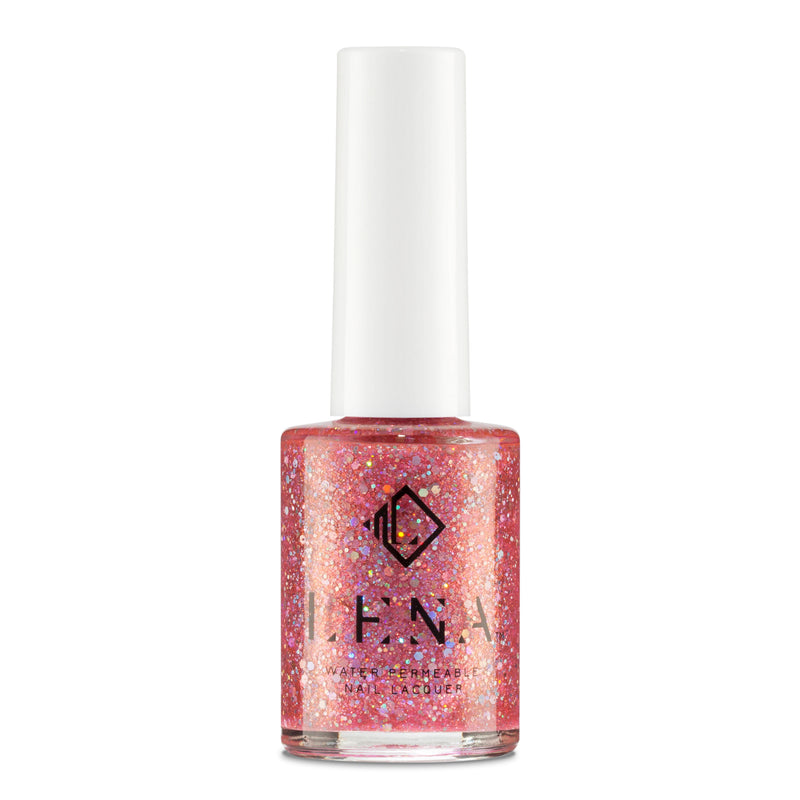 Breathable Halal Holographic Nail Polish - I Miss UAE - LE253 by LENA