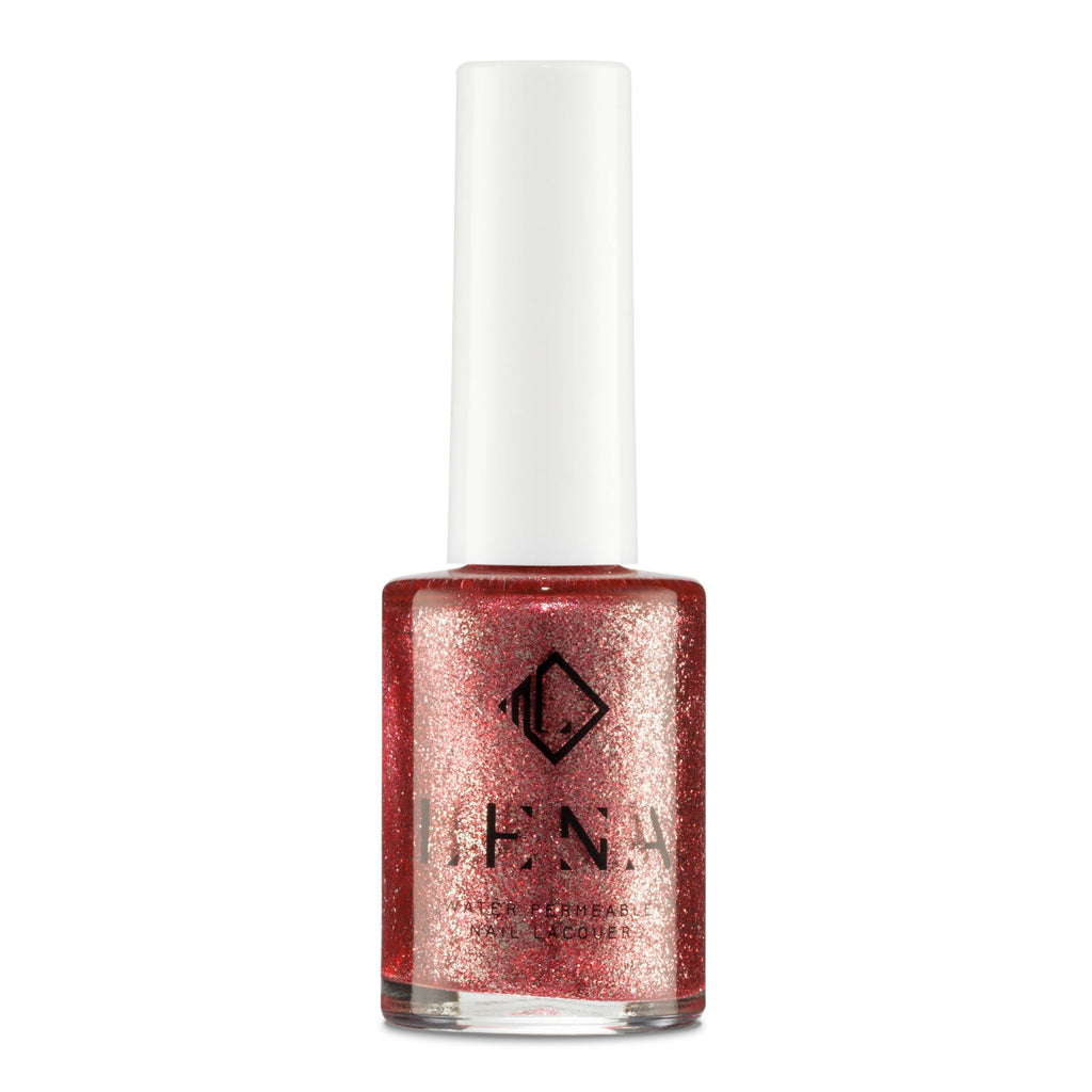 Breathable Halal Holographic Nail Polish - Shisha All Night - LE254 by LENA