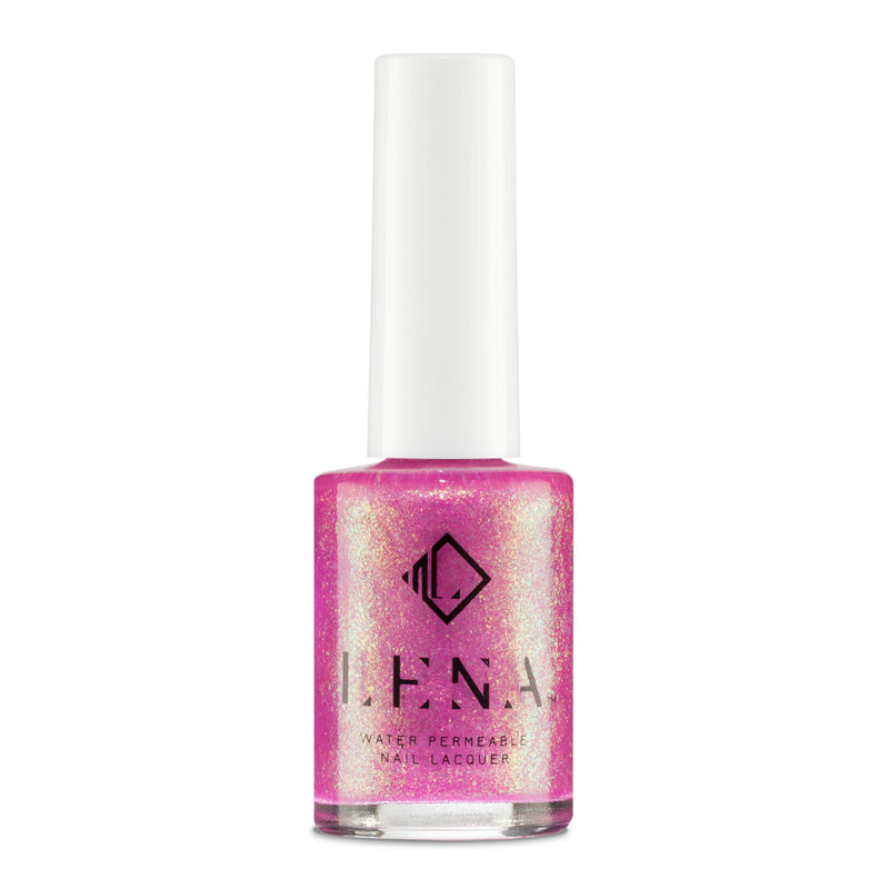 Breathable Halal Holographic Nail Polish - Arabian Lights - LE257 by LENA