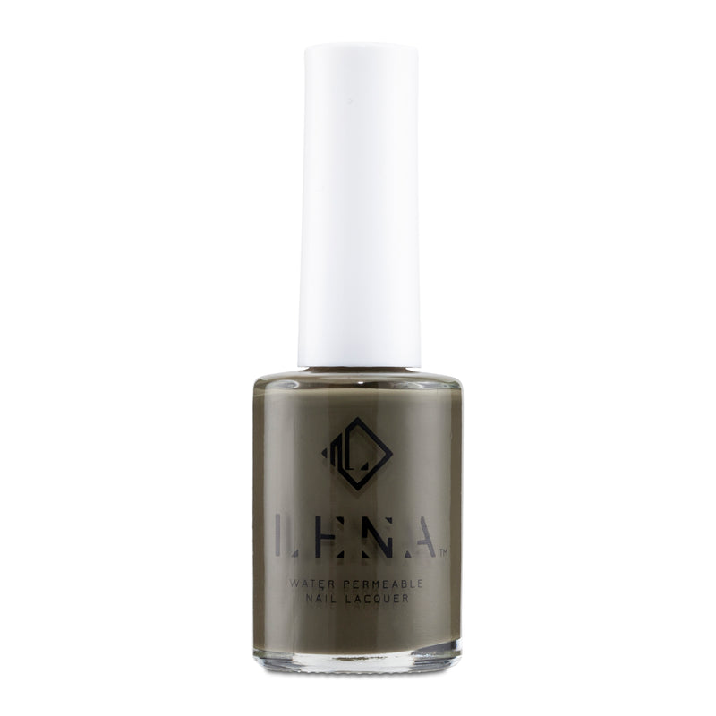 LENA Breathable Halal Nail Polish - Cargo Green Queen - LE281