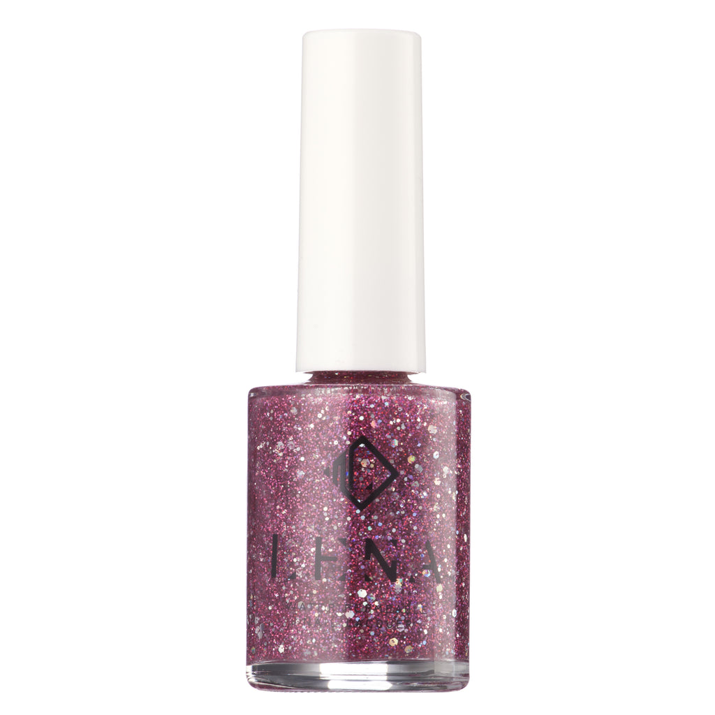 Breathable Halal Nail Polish - Glittering Gown - LE112 by LENA