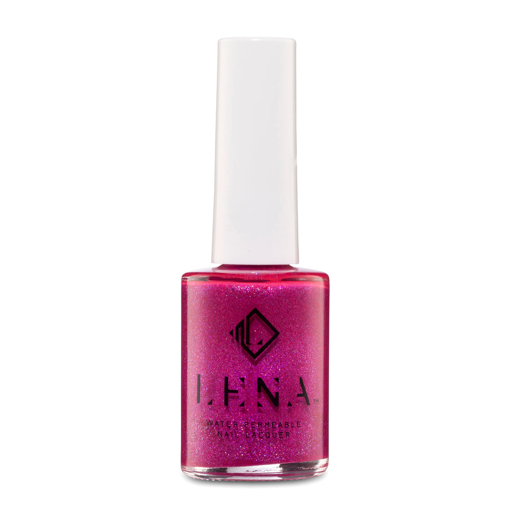 LENA - Halal Breathable Glitter Nail Polish - Belly Dancing - LE197