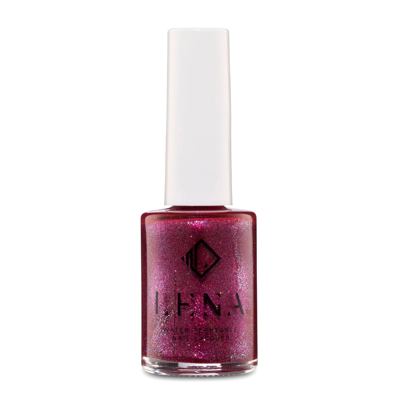 LENA - Halal Breathable Glitter Nail Polish - Arabian Jewels - LE203
