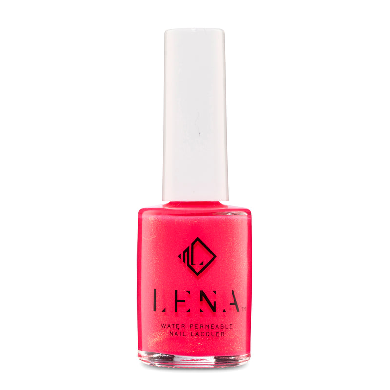 Breathable Halal Neon Nail Polish - Abu Dhabi Barbie - LE215 by LENA