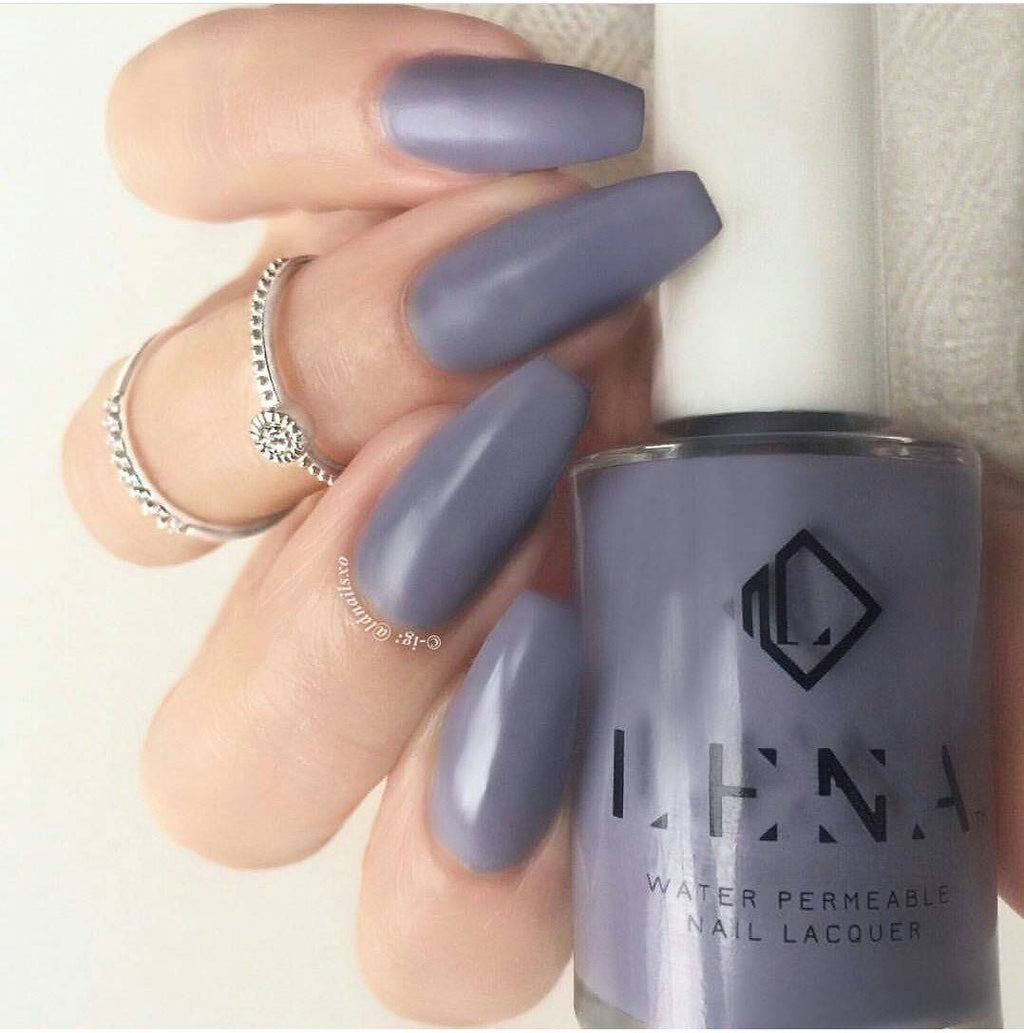 LENA - Matte Breathable Nail Polish - Nothing To wear… - LE63