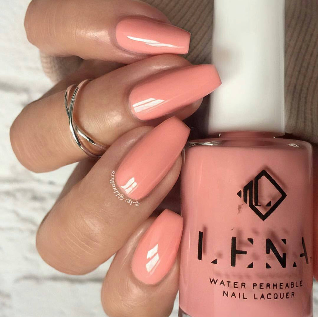 LENA - Breathable Halal Nail Polish - Glam-A-Holic - LE41