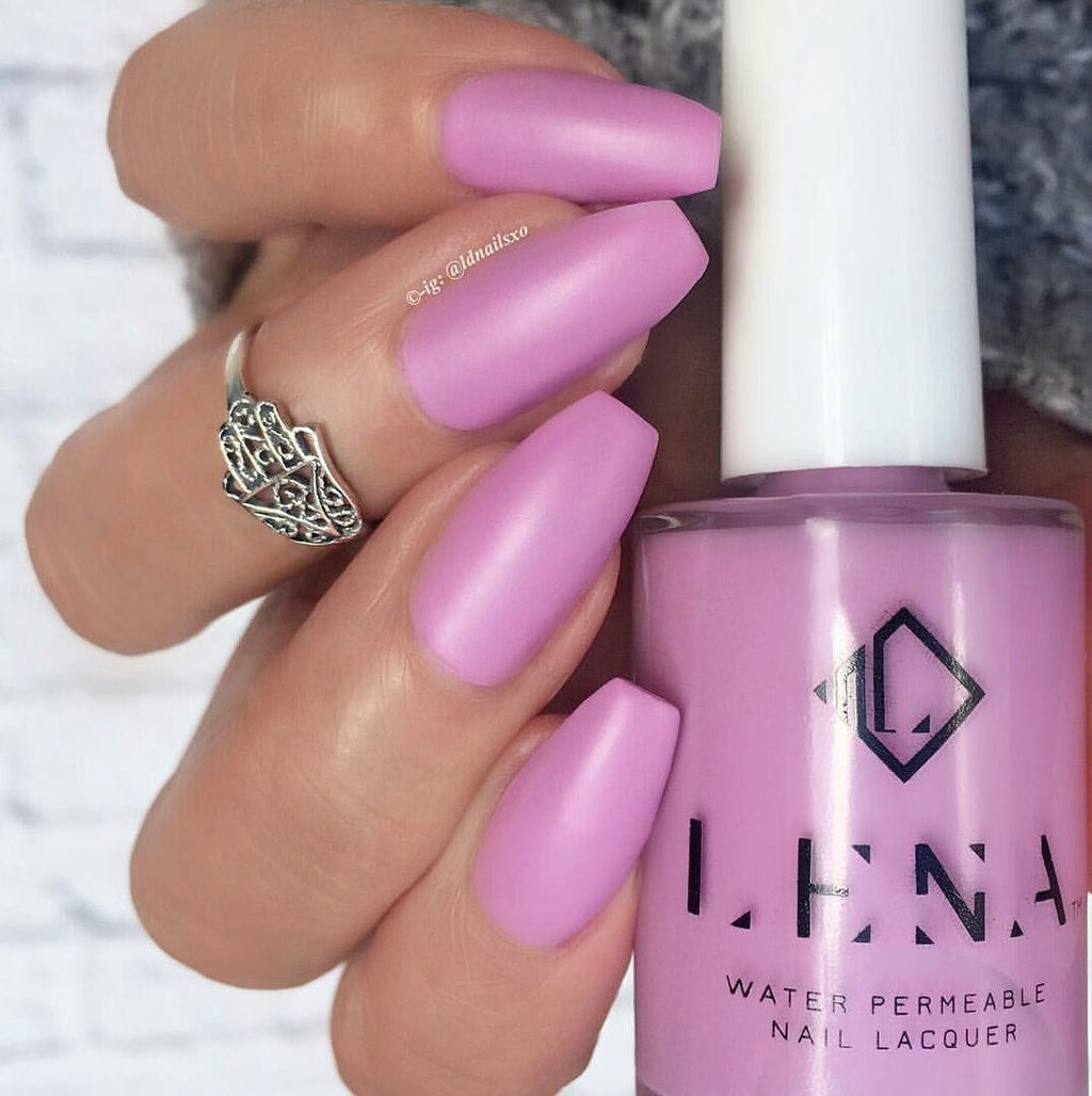 LENA - Matte Breathable Nail Polish - Where's Bae? - LE65