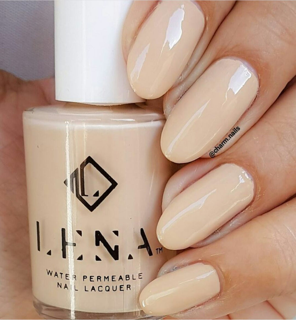 LENA - Breathable Halal Nail Polish - Feet in Sand - LE89