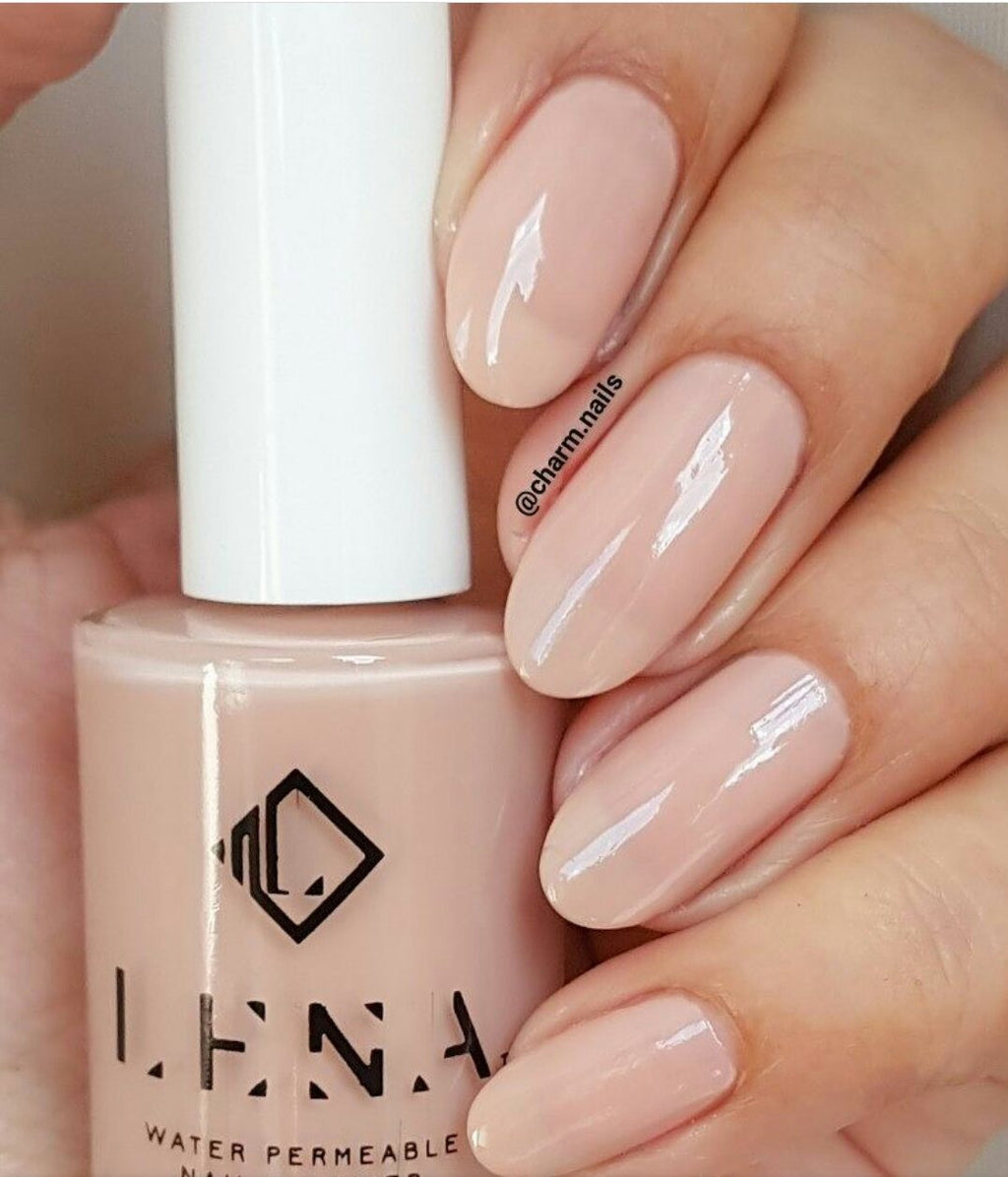 LENA - Breathable Halal Nail Polish - Flawless Make Up - LE90