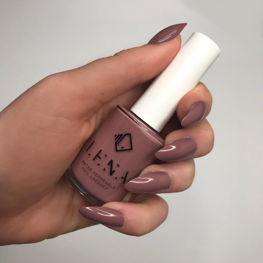 Breathable Halal Nail Polish - Mumsy of Shades - LE141 by LENA