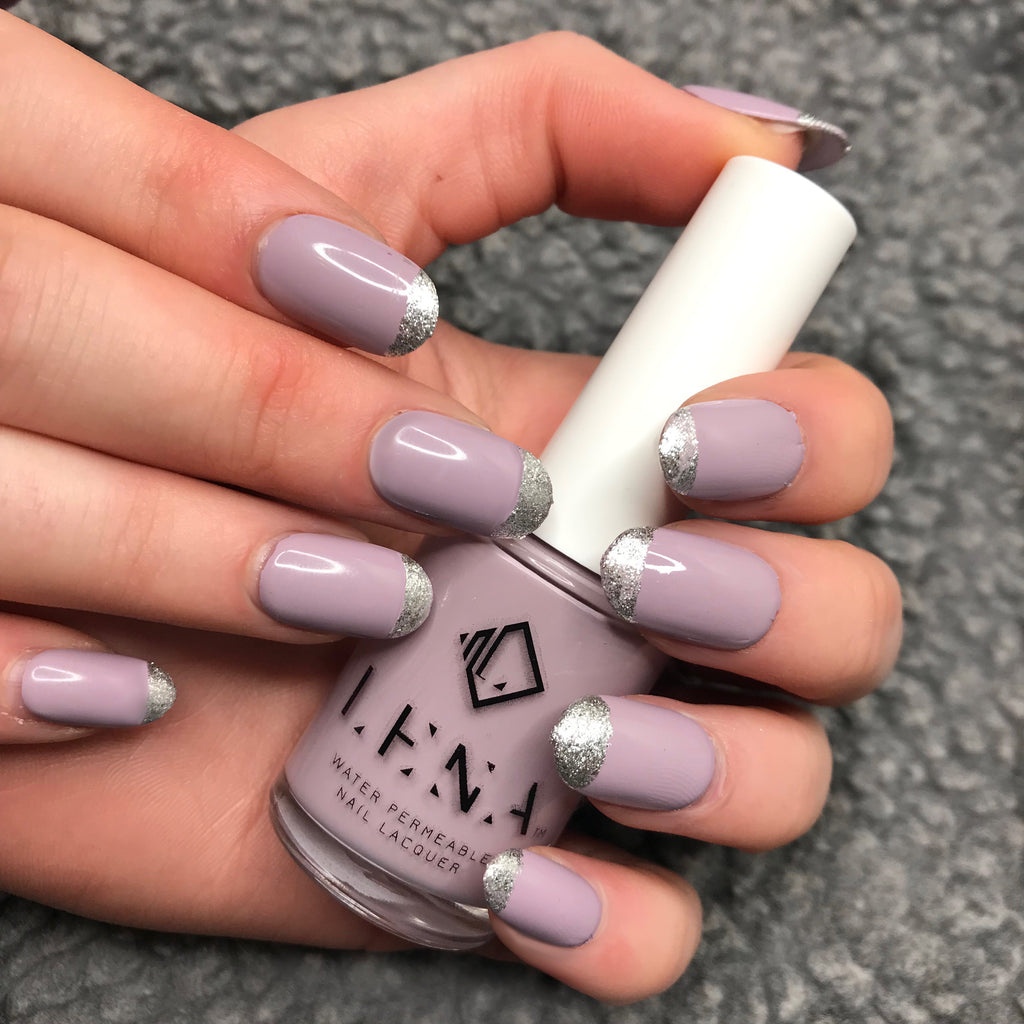 Breathable Halal Nail Polish - Lilac-quer - LE154 by LENA