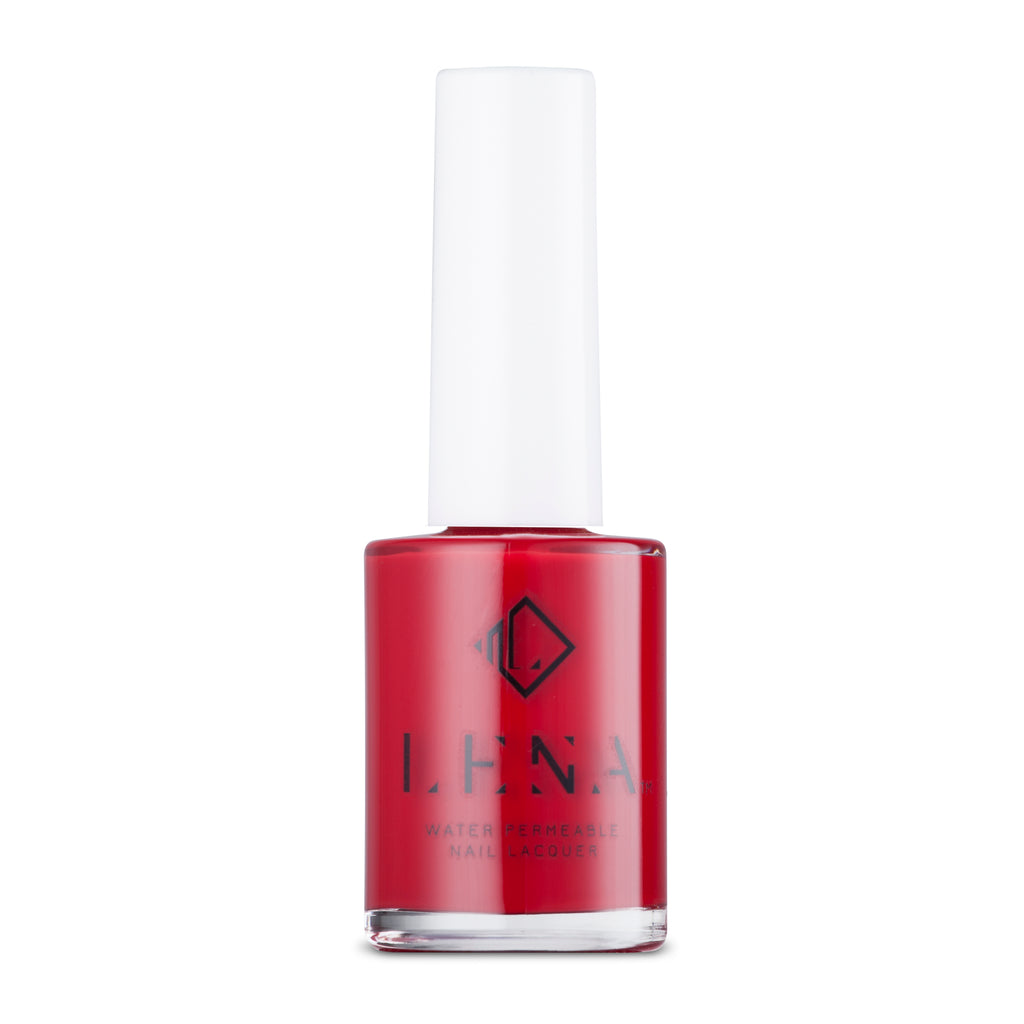 Breathable_Halal _Nail_Polish_Rajasthani_Red_LE152_LENA