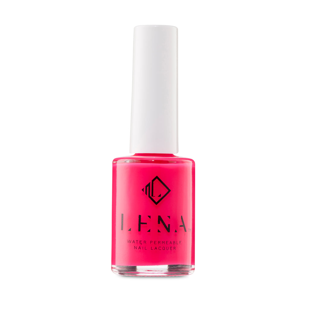LENA Halal Nail Polish -  Breathable - Water Permeable Nail Polish - Bollywood Barbie - LE226