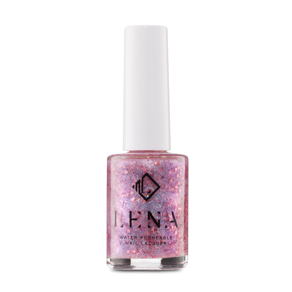 LENA - Breathable Halal Glitter Nail Polish - Jumeirah Jewels - LE240