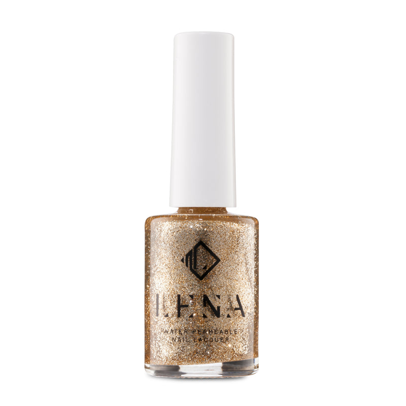 LENA - Breathable Nail Polish - Halal Glitter - Gates of Paradise - LE245
