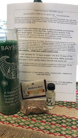 BAYBERRY CANDLE KIT
