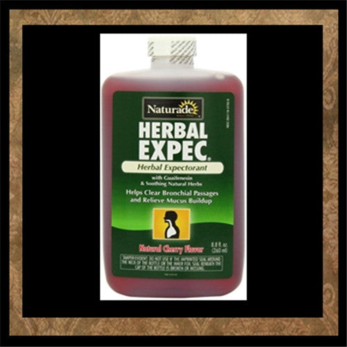 NATURADE HERBAL EXPECTORANT 8OZ - Miller's Rexall