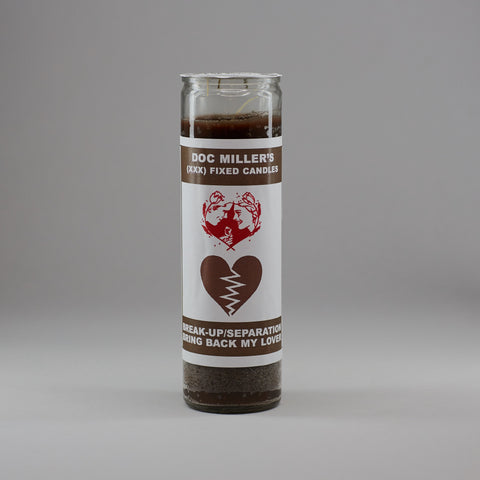 Break Up or Bring Back Lover Candle - Miller's Rexall