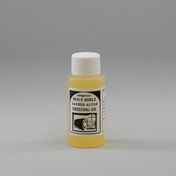 Special Holy Bible Sacred Alter Dressing Oil - Miller's Rexall