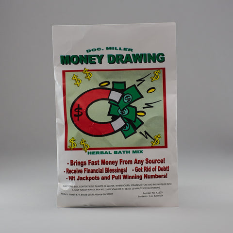 Money Drawing Bath Mix - Miller's Rexall