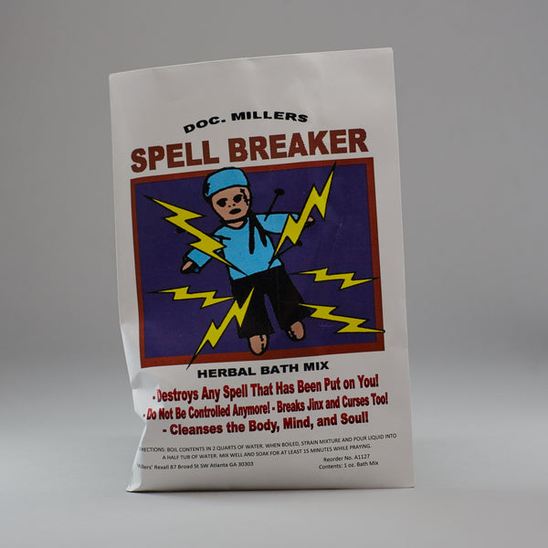 Spell Breaker Bath Mix - Miller's Rexall