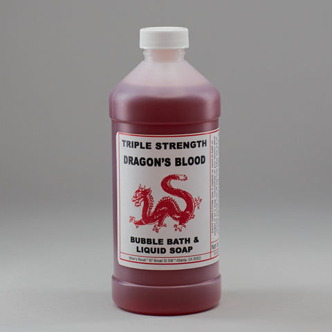 Dragon's Blood Uncrossing Bubble Bath - Miller's Rexall