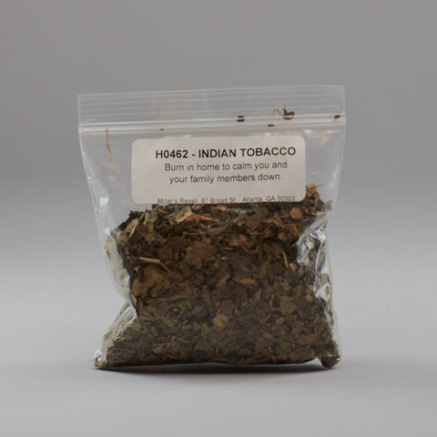 Indian Tobacco - Miller's Rexall