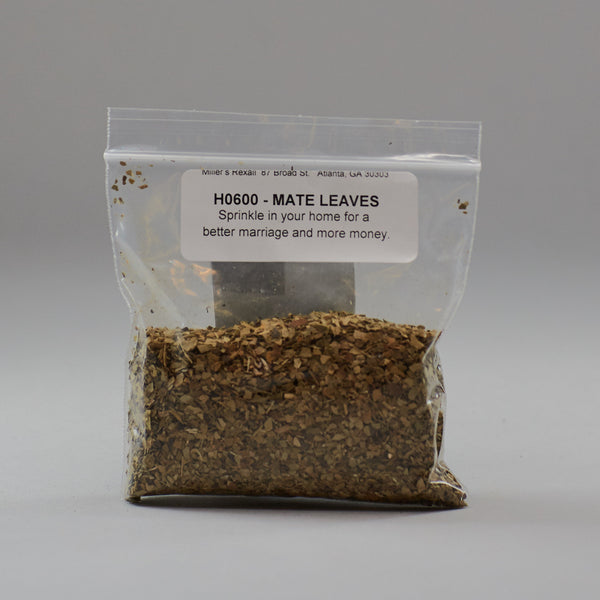 Mate Leaves - Miller's Rexall
