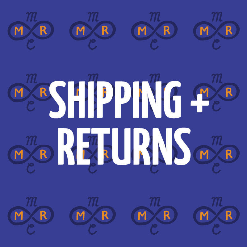 Shipping + returns