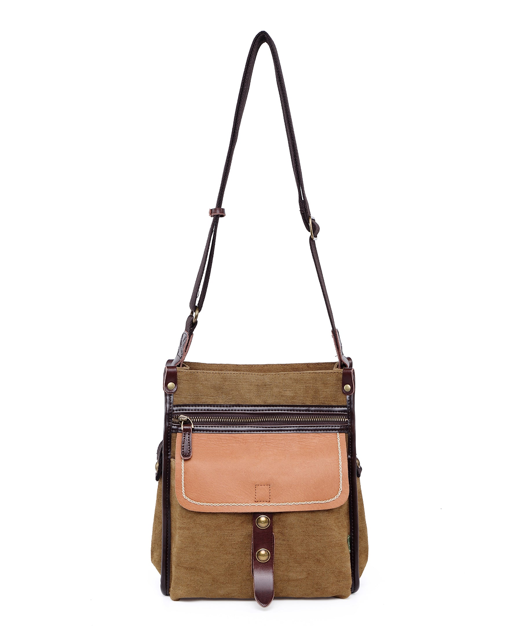 Birch Canvas Crossbody