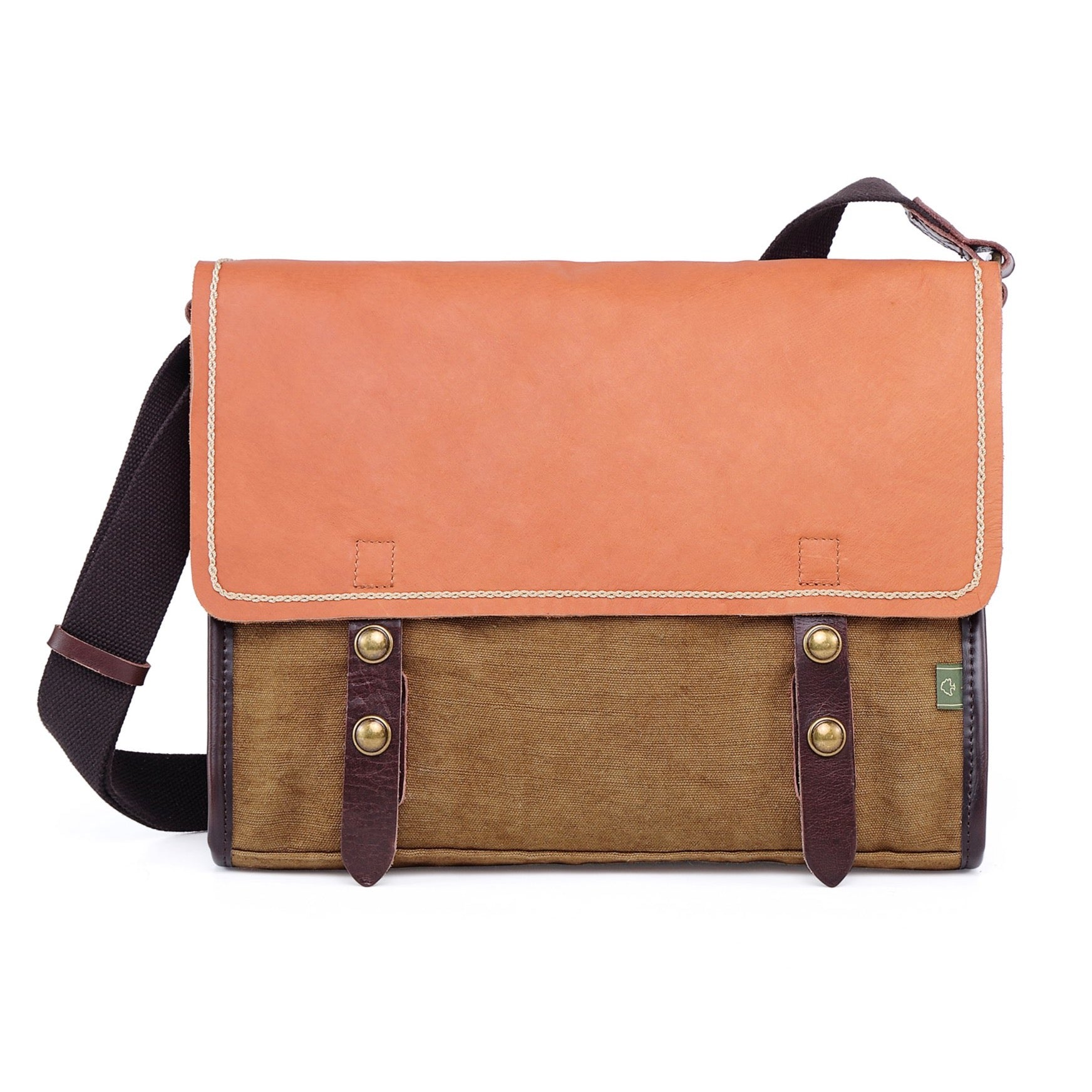 Birch Canvas Messenger Bag