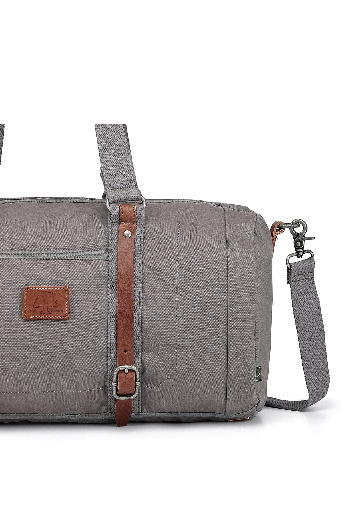 Forest Military-Inspired Canvas Weekender