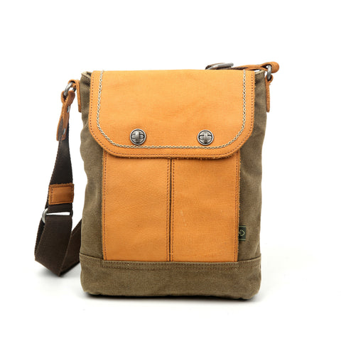 Valley River Canvas Crossbody Bag