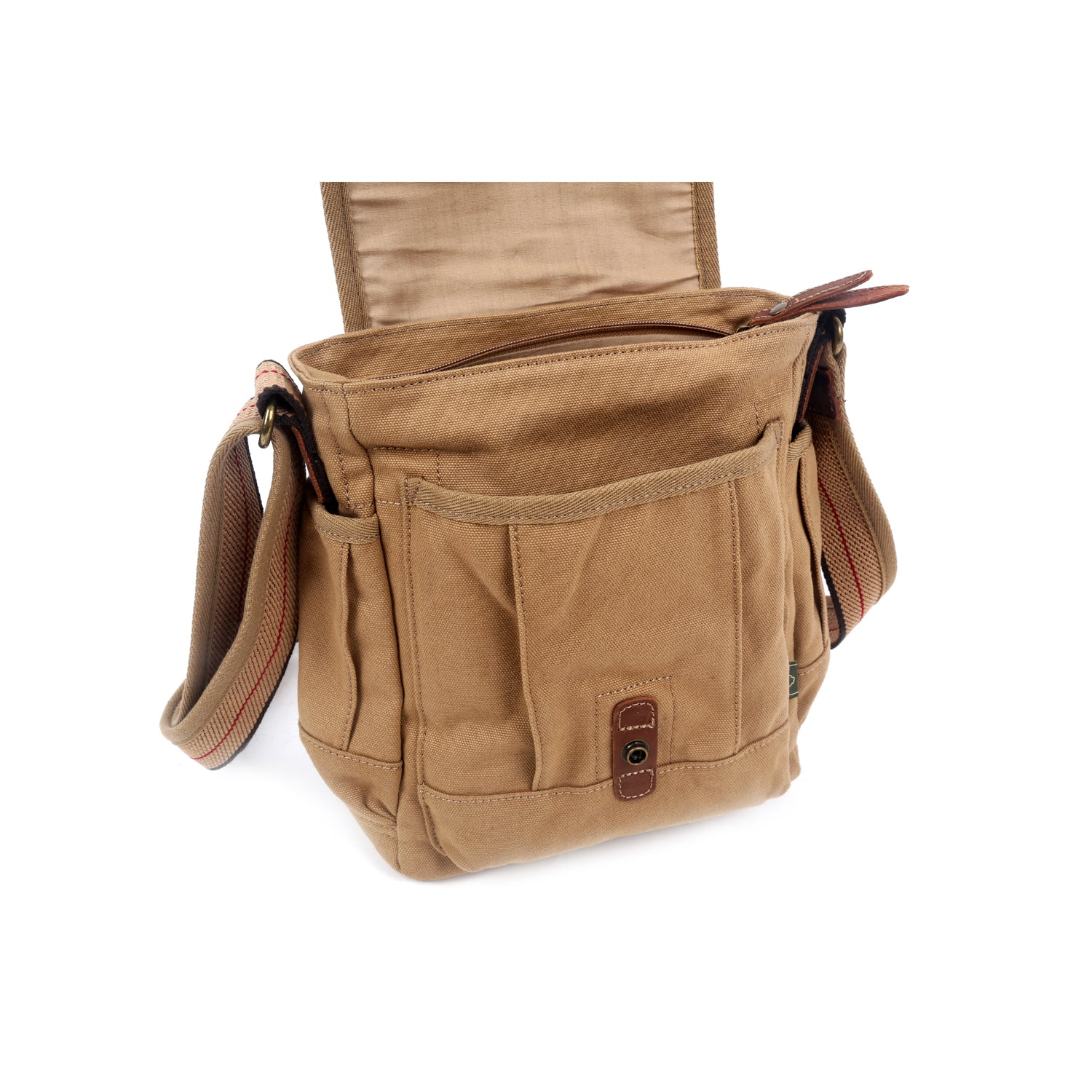 Turtle Ridge Canvas Crossbody