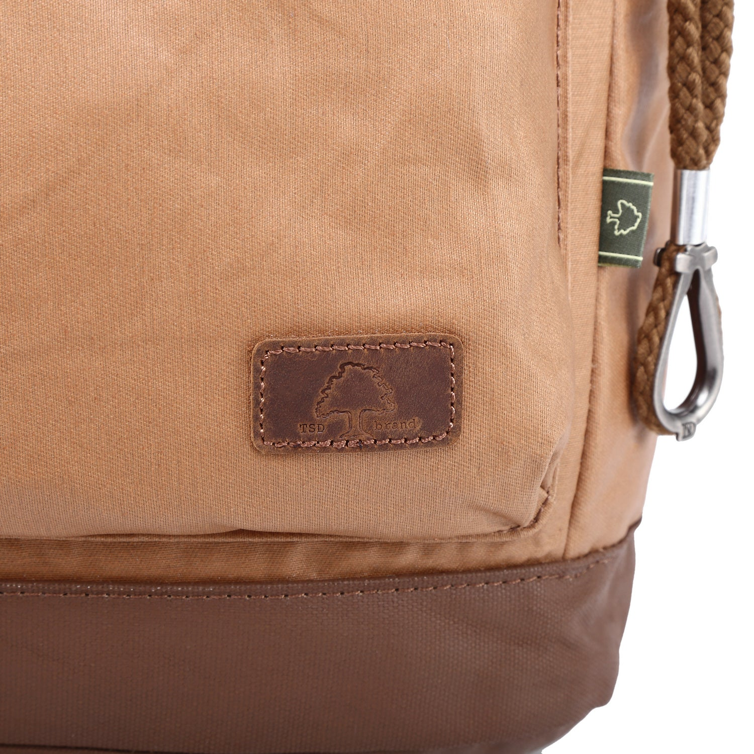 Urban Light Coated Canvas Backpack