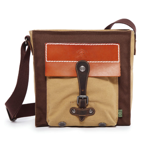 Hidden Woods Canvas Crossbody Bag