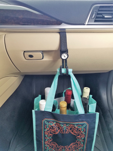 GloveBox Caddy is a car accessory great for delivery drivers such as Instacart, Postmates, and Grubhub.