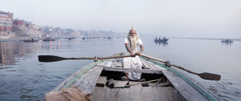 VIJAY NUND ON GANGES RIVER Edition Print