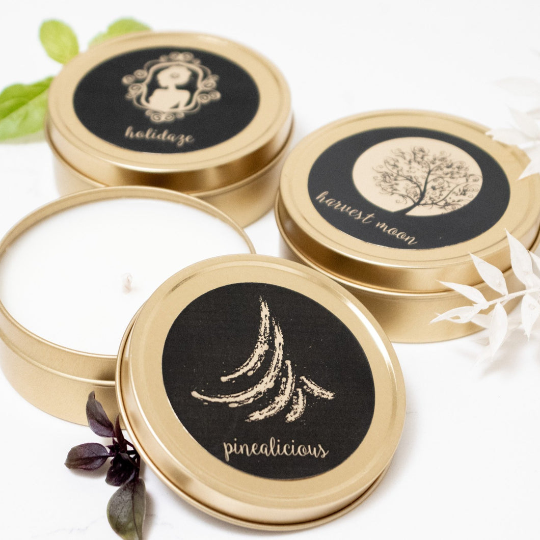 *NEW* Seasonal 4oz Soy Candles