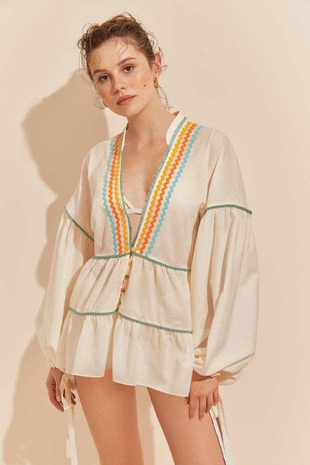 Sunsetter Tunic - MILK