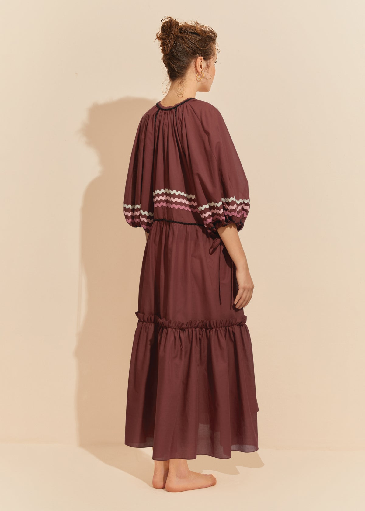 The Gypsy Monroe Dress- MERLOT