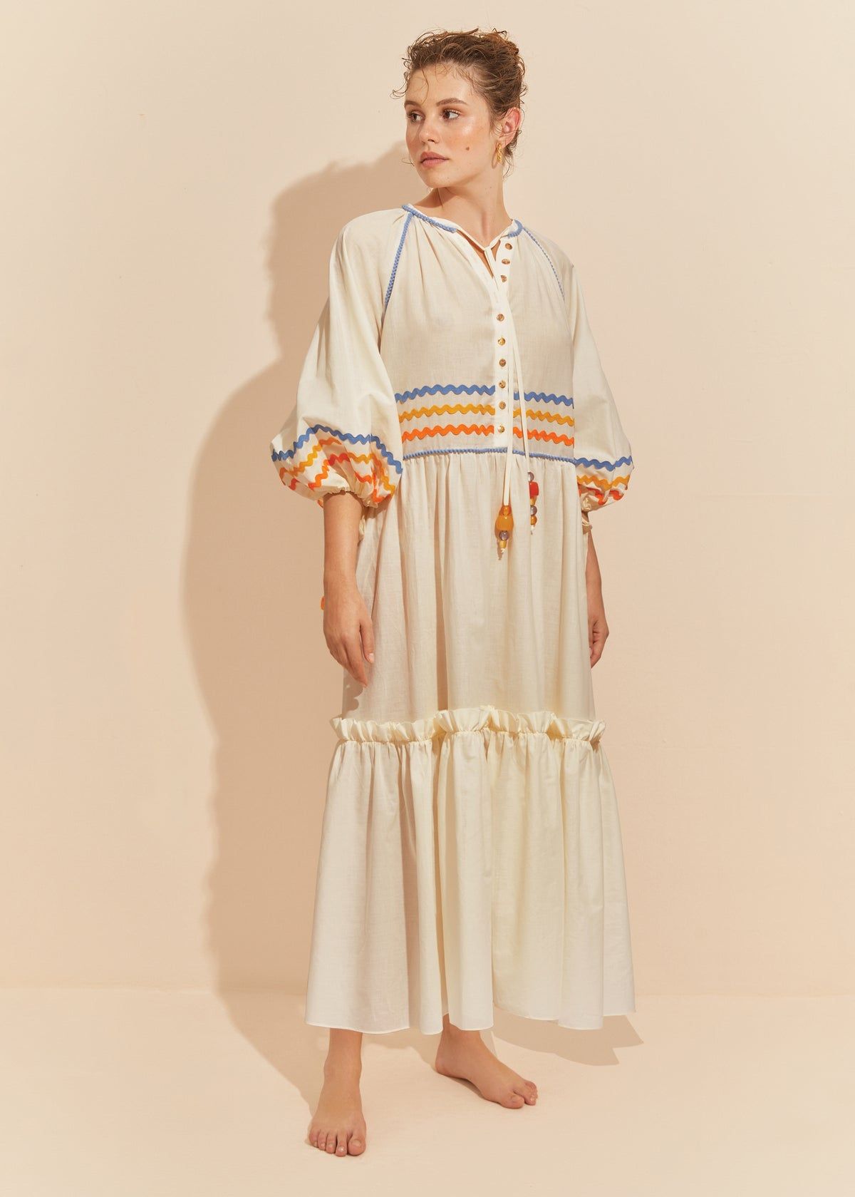 The Gypsy Monroe Dress - MILK