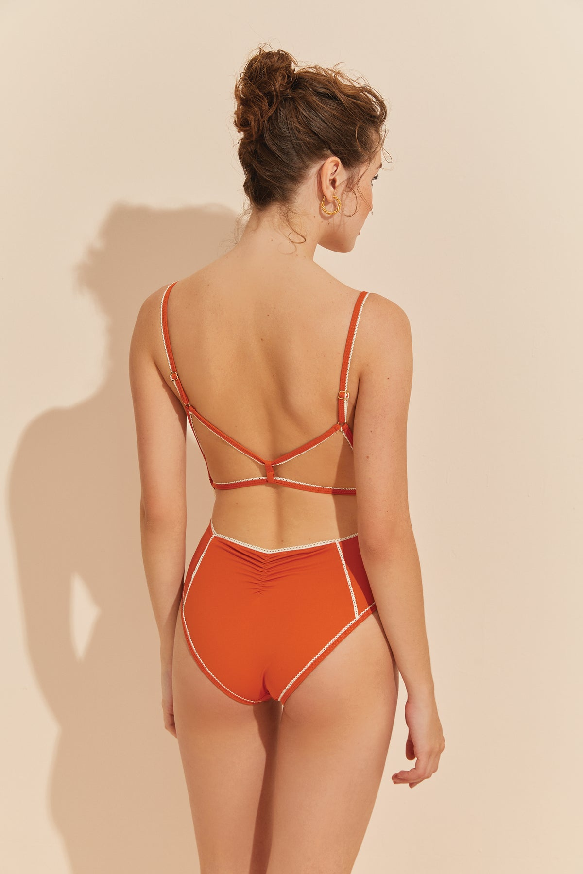 About Innocence One-piece - CORAL