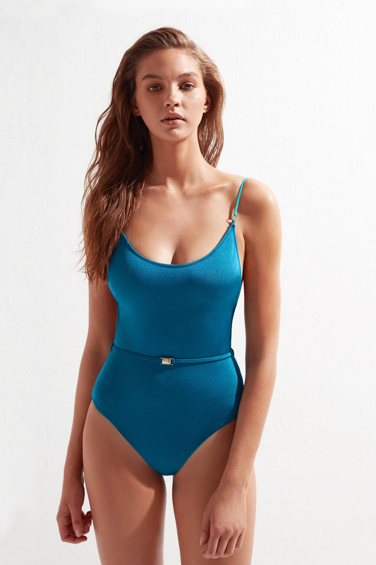 JENNY SWIMSUIT TEAL GREEN