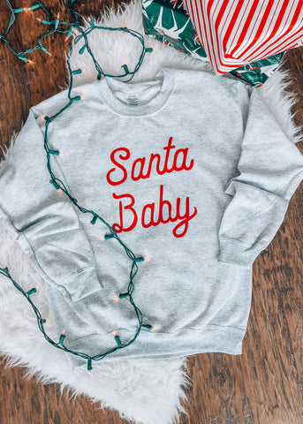 Santa Baby Sweater - 1 Left!