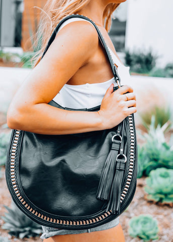 Zoe Vegan Leather Handbag