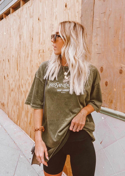 The Yves Tee - Forest Green