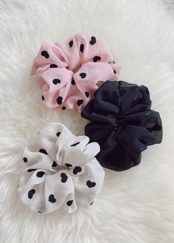 Wild Hearts Scrunchie - 3 Colors!