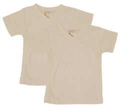 Side Snap Baby Tee 2 Pack - Organic Cotton