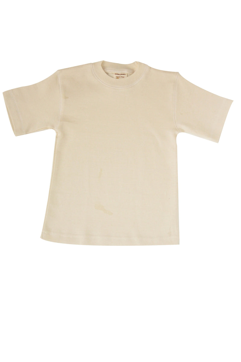 Short Sleeve Organic Tee Shirt Size 7-8 Year